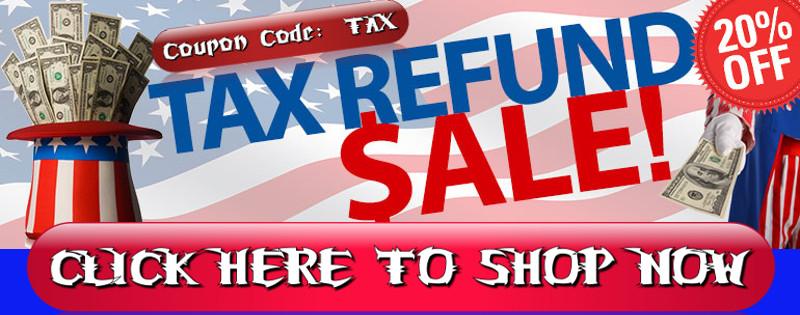 Tax Refund Sale Banner